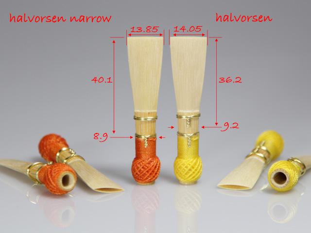 fagotriet, model Halvorsen